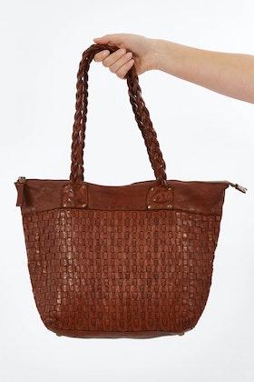 Kompanero Danica Leather Shoulder Bag