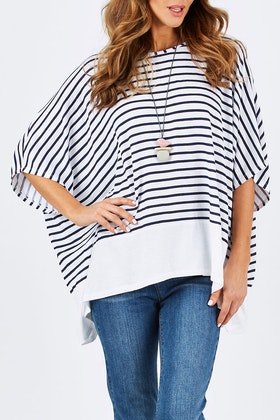 bird keepers The Side Drape Tee