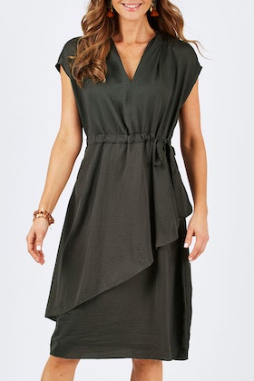 bird keepers The Drawstring Layer Dress