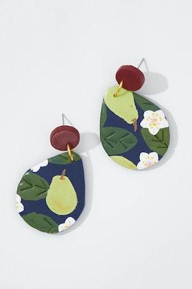 Seeking Hazel Large Pear Dangle Earrings