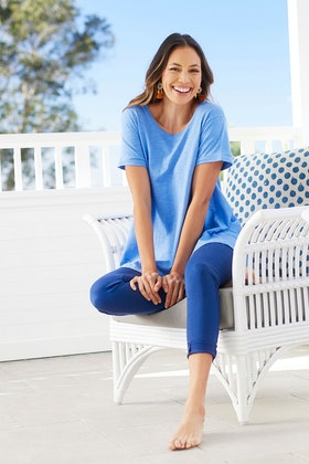bird keepers The Everyday Crop Jean