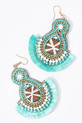 Eb & Ive Festiva Fringe Earrings