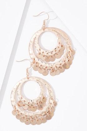 Eb & Ive Inez Metallic Earrings