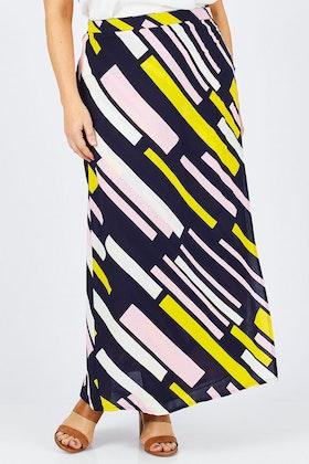 handpicked by birds Wrap Maxi Skirt