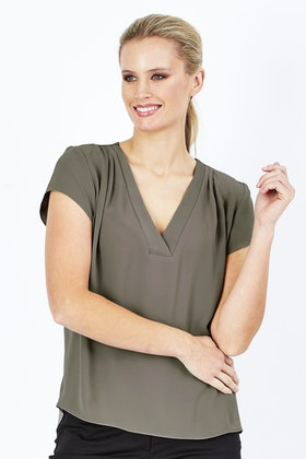 bird keepers The V Neck Blouse