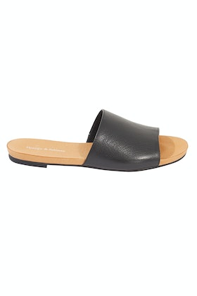 Django & Juliette Jallas Leather Flat Sandal