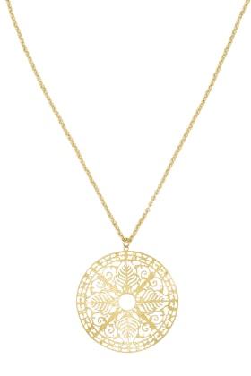 Tiger Tree Amulet Long Pendant Necklace