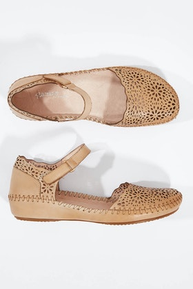 Gamins Rube Leather Flat