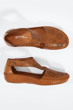 Gamins Rustin Leather Flat