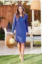 bird keepers The Curved Hem Dress