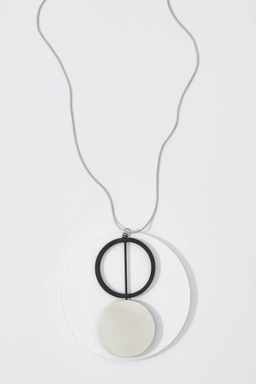 365 Days Two Circles Pendant Necklace