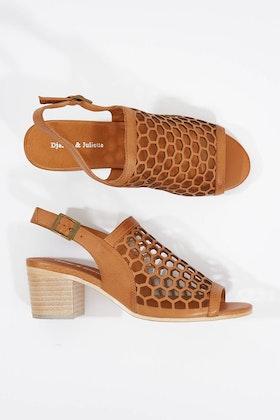 Django & Juliette Bikkis Leather Heel