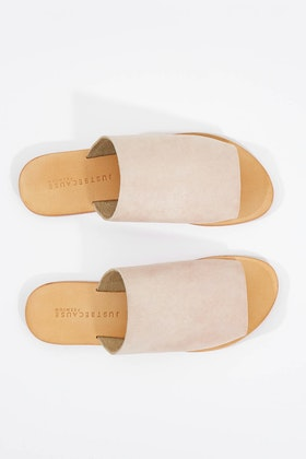 Just Because Anjuna Suede Leather Sandal