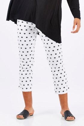 Vassalli Printed 7/8 Slim Pant