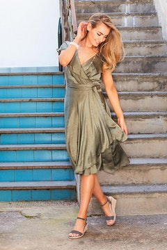 Amore Wrap Dress