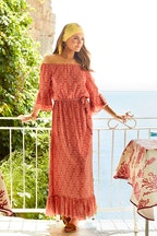 boho bird In Light Of The Sun Maxi