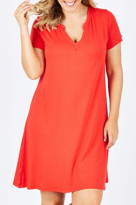 Vigorella V-neck Dress