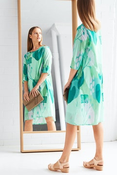 Skon Print Dress