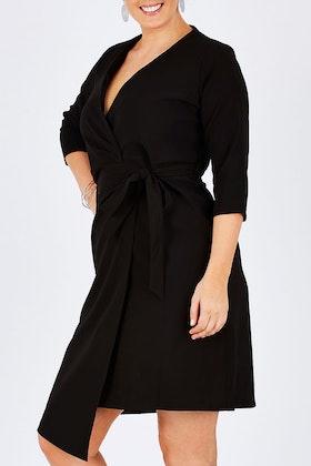 bird by design The Asymmetrical Wrap Dress