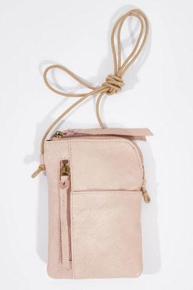 365 Days Pouch Leather Handbag