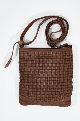 Holly Riva Orleans Crossbody Leather Bag