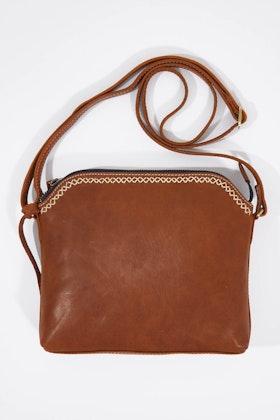 Holly Riva Munich Small Crossbody Leather Bag