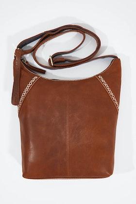 Holly Riva Munich Crossbody Leather Bag