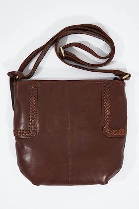 Holly Riva Berlin Crossbody Leather Bag