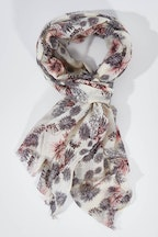 Ivys Floral Spikes Scarf