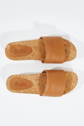 Rollie Sandal Slide Tooth Flat