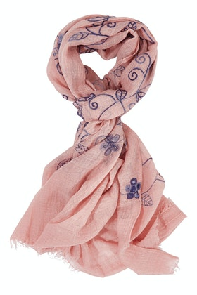 Ivys Swirling Leaves Scarf
