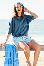 bird keepers The Weekend Chambray Short