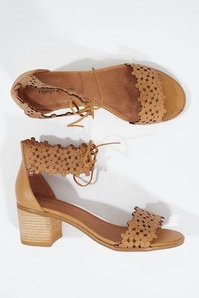 Django & Juliette Davon Leather  Heel