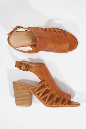 Django & Juliette Westin Leather Heel