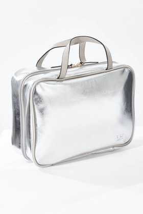 LOUENHIDE Emma Metallic Cosmetic Bag