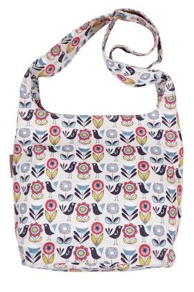 Nicky James Canvas Printed Shoulder Bag