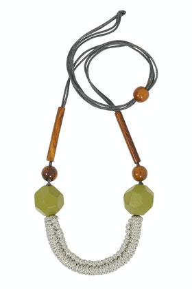 Rare Rabbit Lumiere Long Adjustable Necklace