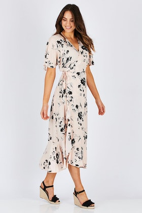 Fate + Becker Dream Big Wrap Dress