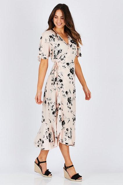 Fate + Becker Dream Big Wrap Dress - Womens Maxi Dresses - Birdsnest  Australia 31f849a24