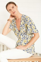 Scandi bird Tystnad Blouse