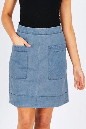 JAG Asha Denim Skirt