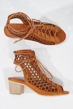 Django & Juliette Benno Leather Heel