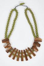 Rare Rabbit Picket Fence Necklace