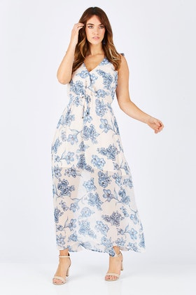 Sass Flemington Floral Maxi Dress