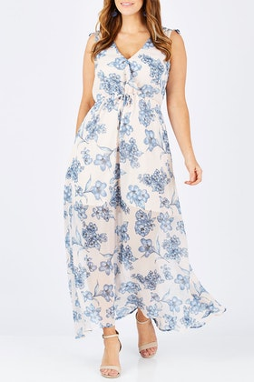 Sass Flemington Floral Maxi Dress