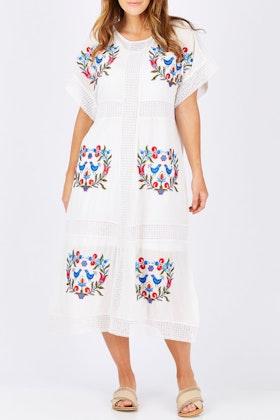 Scandi bird Lagom Lace Dress