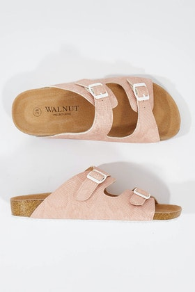 Walnut Bailey Flat Slide