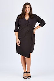 The Asymmetrical Wrap Dress