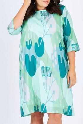 Scandi bird Skon Print Dress