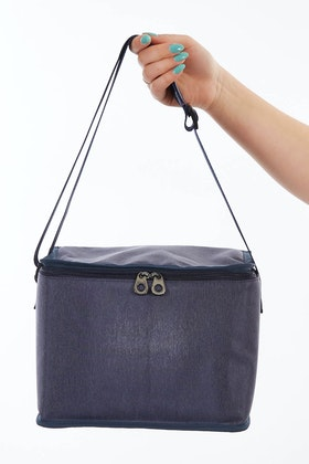 LOUENHIDE Rusty Denim Cooler Bag